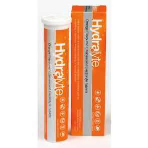 Hydralyte Effervescent Orange 20 Tablets
