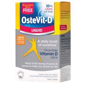 Ostevit-D Liquid 30Ml + Bonus 20Ml
