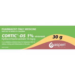 Cortic Ds Ointment 1% 30G