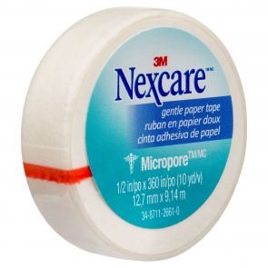 Nexcare Micropore First Aid Tape White 12.5Mm