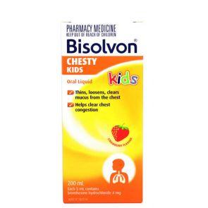 Bisolvon Chesty Kids Strawberry 200Ml