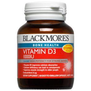 Blackmores Vitamin D3 1000Iu Tablets 60