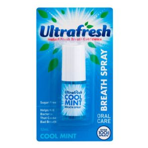 Ultrafresh Breath Spray Cool Mint 12Ml