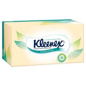 Kleenex Tissues Eucalyptus & Aloe Vera 95