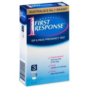 First Response Dip & Read 3pk