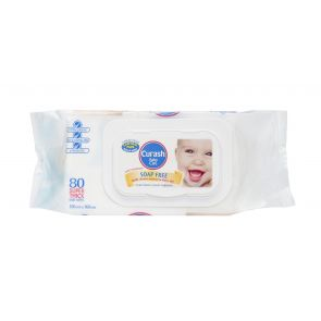 Curash Baby Wipes Thick 80