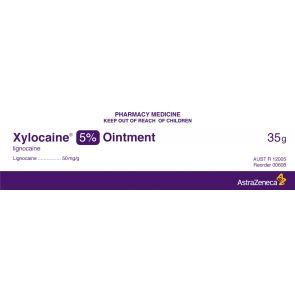 Xylocaine 608 Ointment 5% 35G