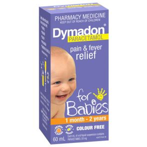 Dymadon 1 Month - 2 Years Colour Free 60Ml