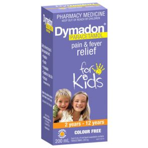 Dymadon 2 -12 Years Colour Free 200Ml