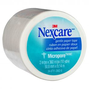 Nexcare Micropore First Aid Tape White 50Mm