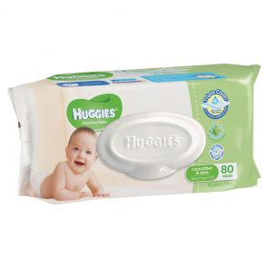 Huggies Babywipes Refill Aloe & Cucumber 80