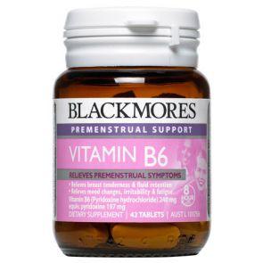 Blackmores Vitamin B6 Tablets 42