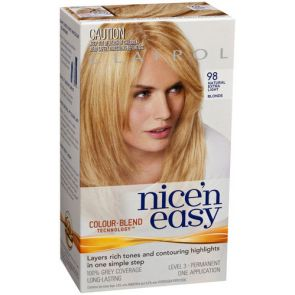 Clairol Nice N Easy Colour Blend 98 Natural Extra Light Blonde