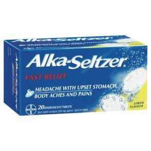 Alka Seltzer Lemon Tablets 20