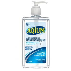 Ego Aqium Antibacerial Hand Sanitiser 375Ml