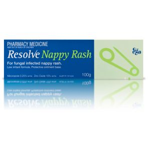 Ego Resolve Nappy Rash 100G