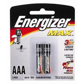 Energizer Battery Max E92 Aaa 2