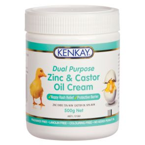 Kenkay Zinc & Castor Oil Cream Tub 500G