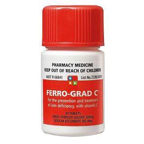 Ferro-Grad C 30 Tablets