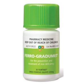 Ferro-Gradumet 30 Tablets