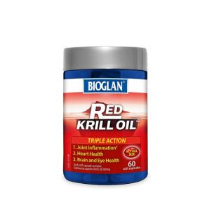 Bioglan Red Krill Oil Soft Capsules 500Mg 60