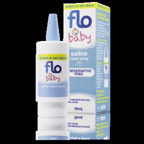 Flo Baby Saline + Nasal Spray 15Ml