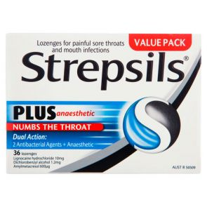 Strepsils Plus Lozenges 36