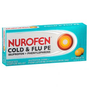 Nurofen Pe Cold & Flu 200Mg 12