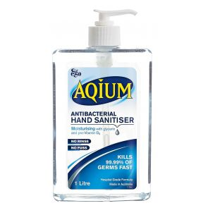 Ego Aqium Antibacterial Hand Sanitiser 1L