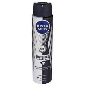 Nivea Men Black & White Invisible Anti-Perspirant Spray 250Ml