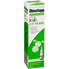 Dimetapp Saline Nasal Spray Kids 3-5 Years 30Ml
