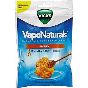 Vicks Vaponatural Honey Fresh Re-Seal Bag 19