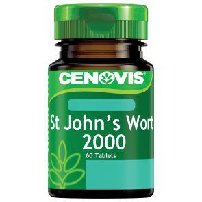 Cenovis St Johns Wort Tablets 2000Mg 60