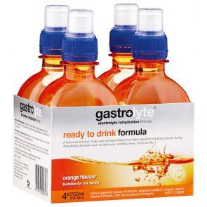 Gastrolyte Ready To Drink Orange 250Ml 4