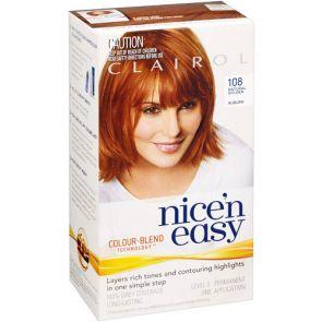 Clairol Nice N Easy Colour Blend 108 Golden Auburn