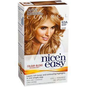 Clairol Nice N Easy Colour Blend 103A Medium Blonde