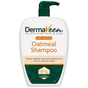 DermaVeen Daily Nourish Oatmeal Shampoo 1L