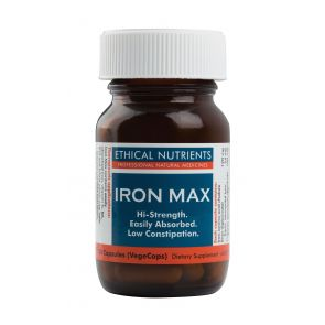 Ethical Nutrients Iron Max Capsules 30