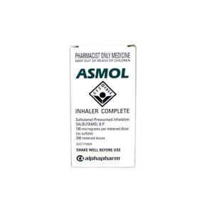 Asmol Cfc-Free Metered Aerosol 200 Doses