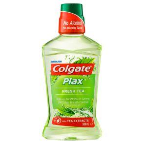 Plax Mouthwash Fresh Tea 500Ml