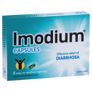 Imodium Capsules 8