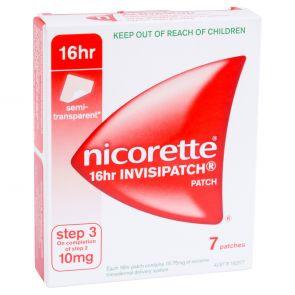 Nicorette Invisipatch 10Mg 7