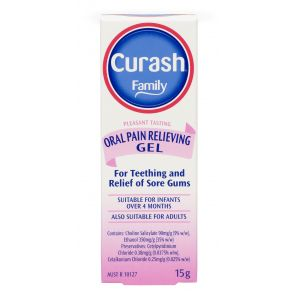 Curash Family Oral Pain Relieving Gel 15G
