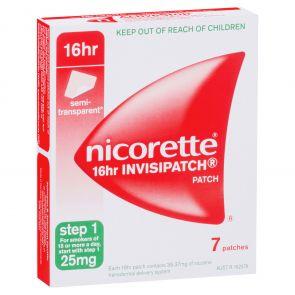 Nicorette Invisipatch 25Mg 7