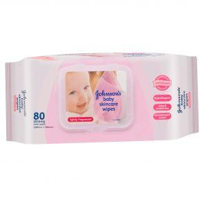 Johnson & Johnson Baby Wipes Skincare Regular 80