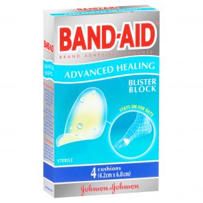 Johnson & Johnson Bandaid Advance Healing Blister Block Regular