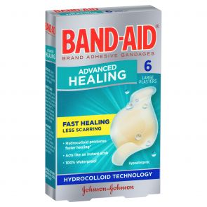 Johnson & Johnson Bandaid Advance Healing Large 6