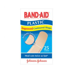 Johnson & Johnson Bandaid Plastic Strips 25