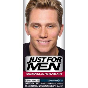 Just For Men Hair Colour Natural Light Brown