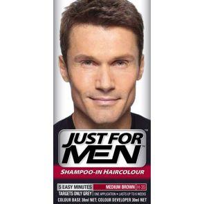Just For Men Hair Colour Natural Medium Brown